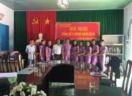 Tập thể đảng viên Chi bộ trường MG Cư Knia.